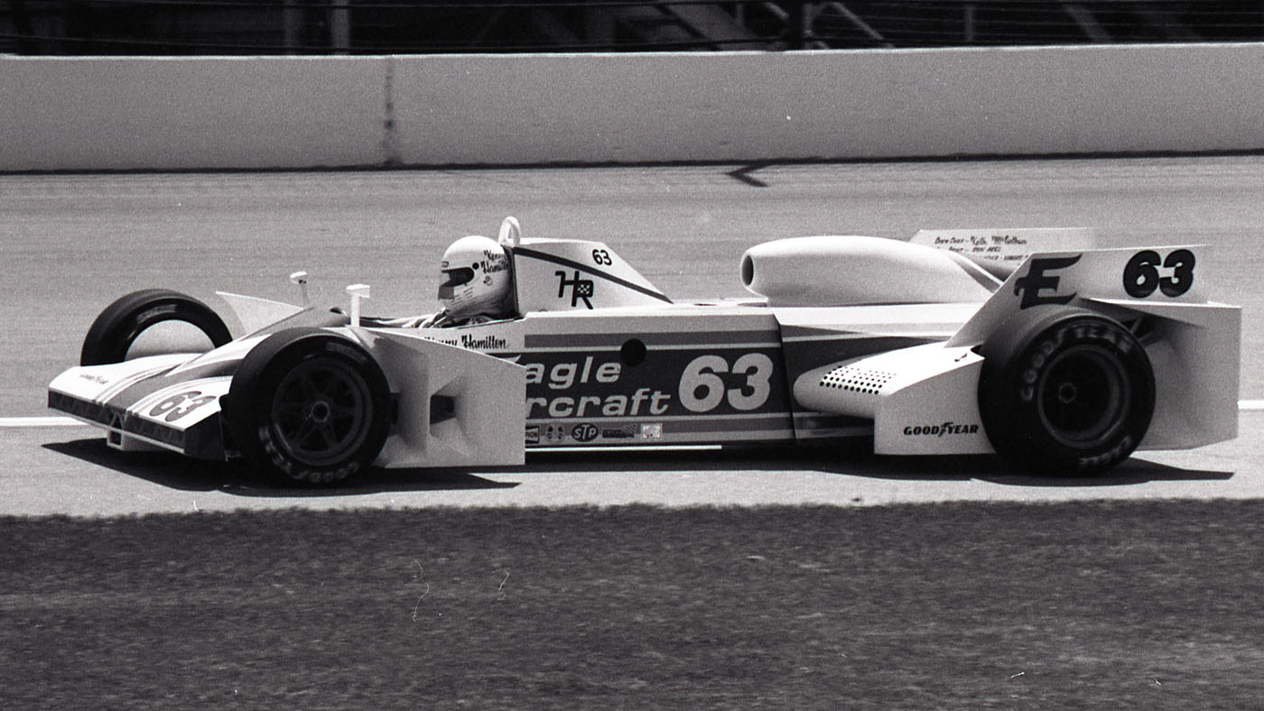 Ken Hamilton, 1982 Eagle Aviation-Chevy. (Image: IMS Photo)