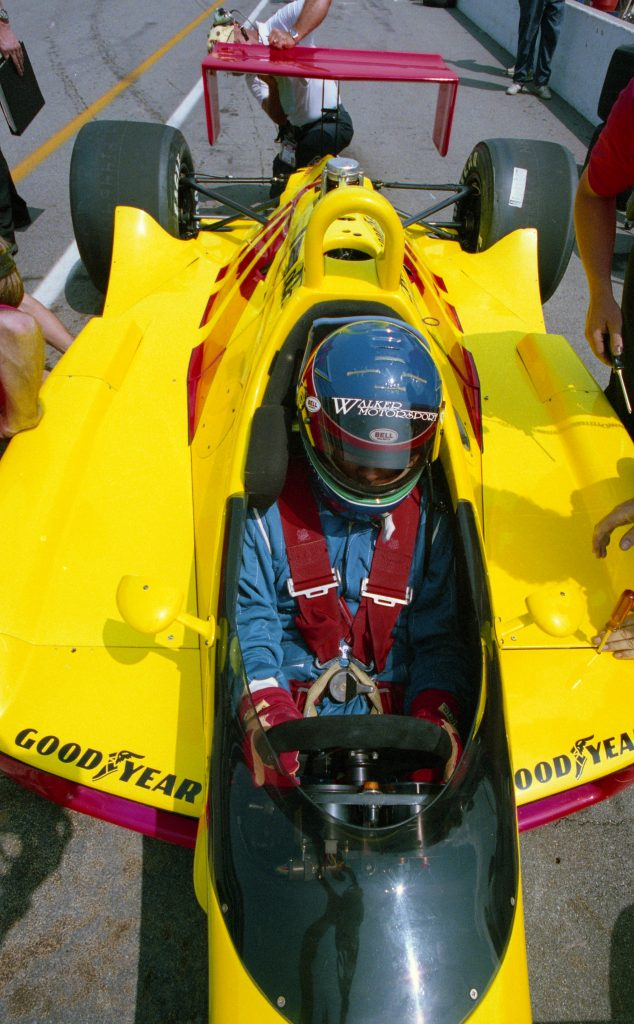 Strapped in and ready to go. (Image: IMS Photo)