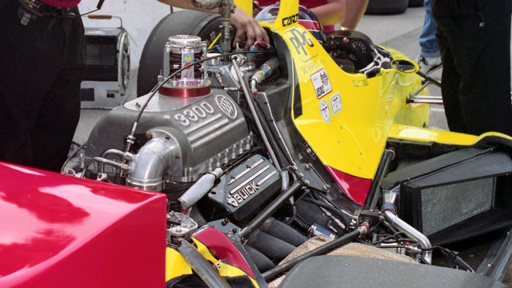 Engine damage to the ended Ribbs' debut. (Image: IMS Photo)