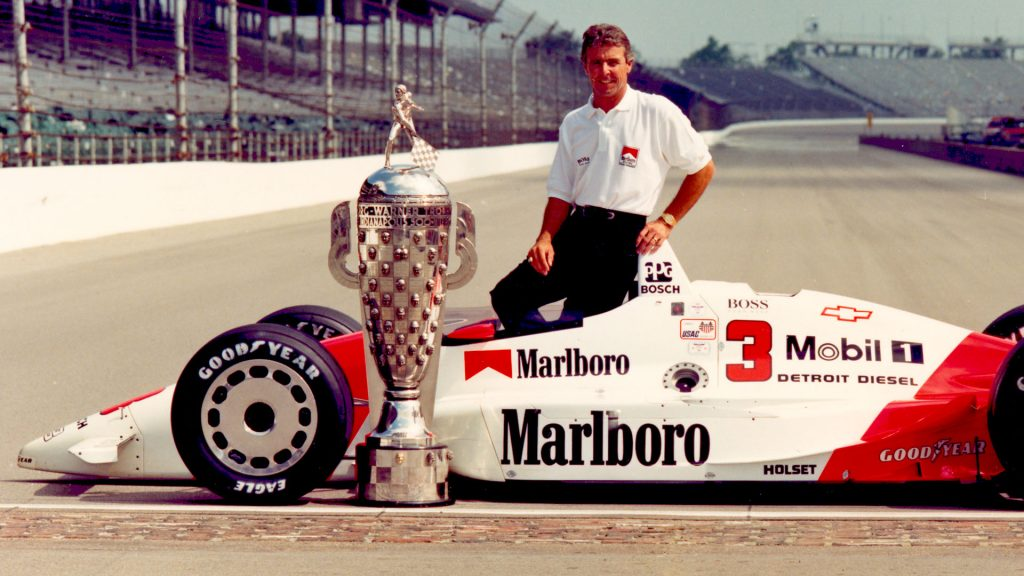 With Rick Mears in his corner, Ribbs' oval education soared. (Image: IMS Photo)