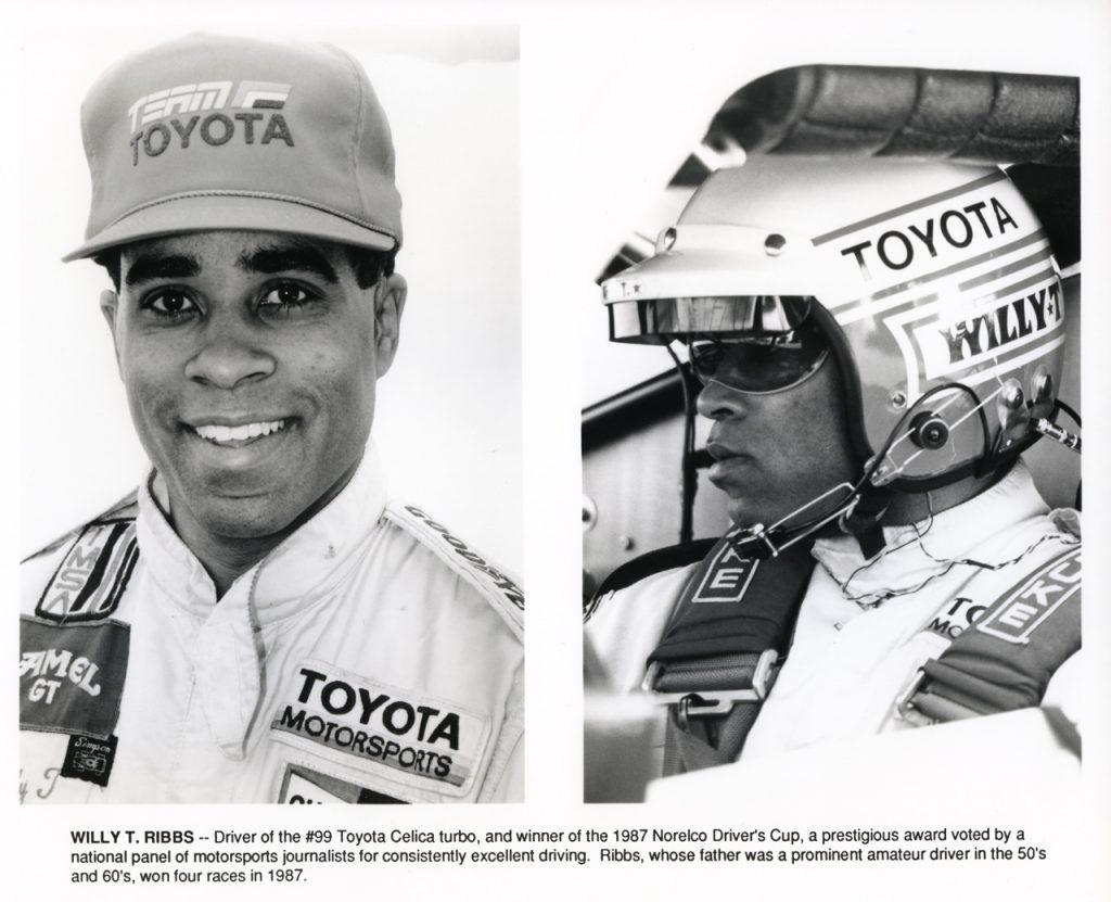 Ribb's winning performance in one of Dan Gurney's IMSA GTO Celicas made headlines. (Image Press Kit)