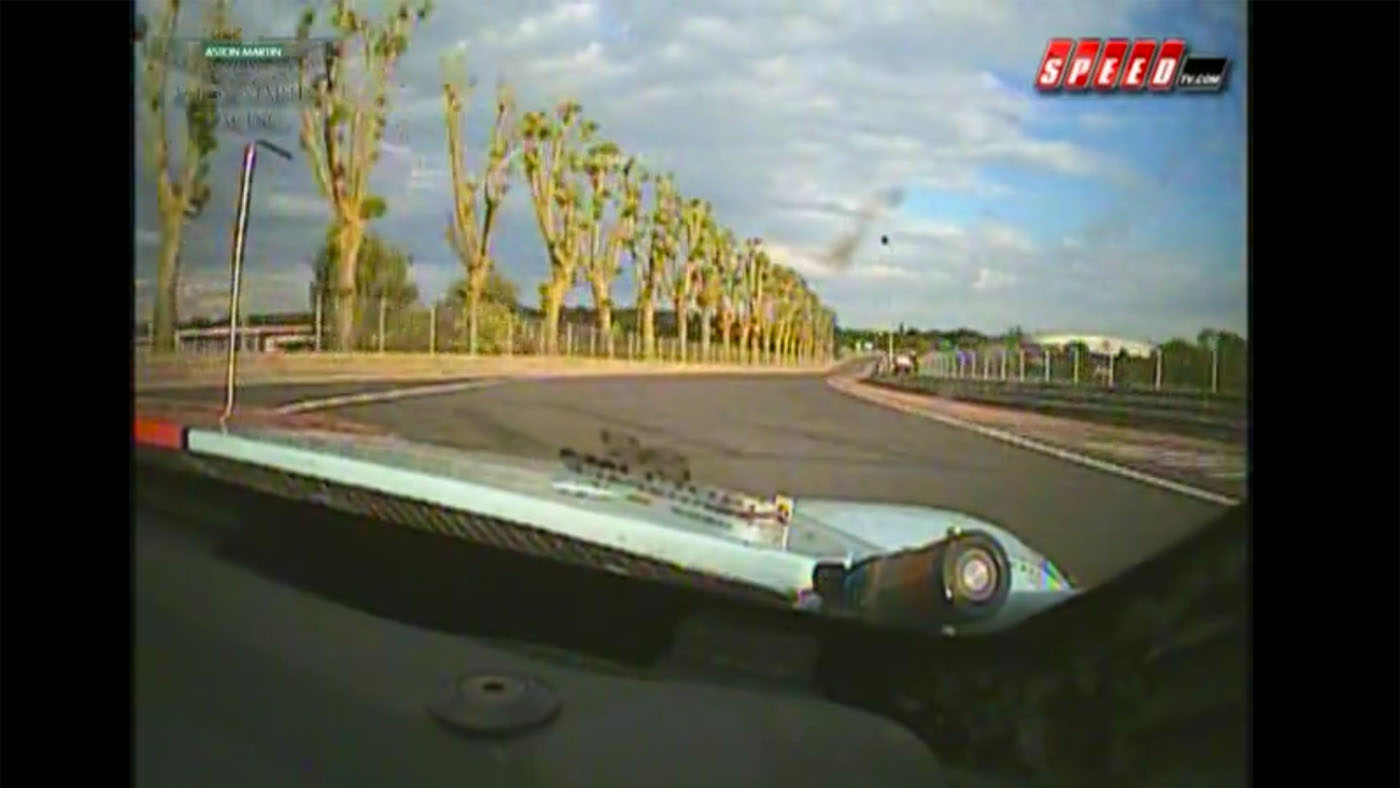 David Brabham Aston Martin DBR9 Le Mans