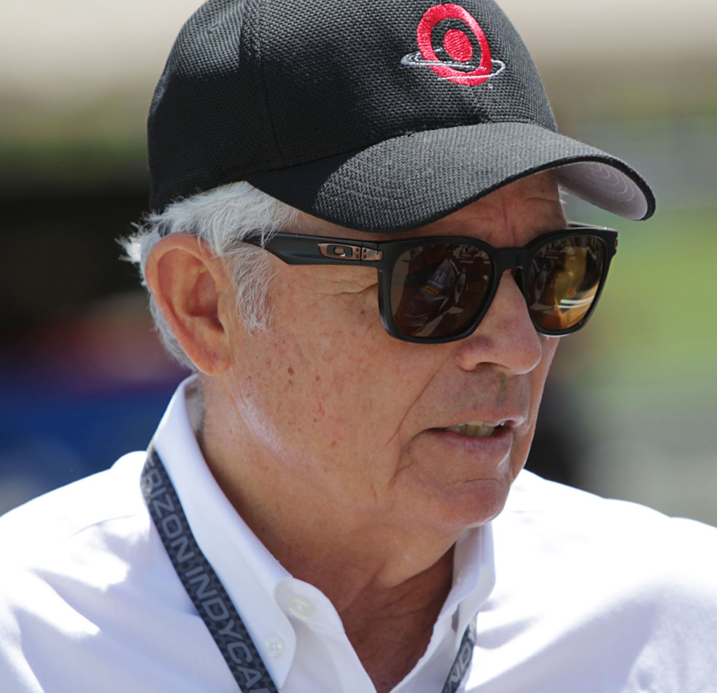 Mike Hull was responsible for bringing Jeff back to America where he vied for a drive with Chip Ganassi Racing. (Image: IndyCar Series)
