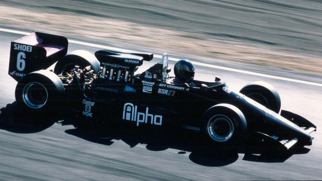 Years of Japanese F3000 and sports car mastery transformed Krosnoff into a sharp development driver. (Image: Krosnoff family)