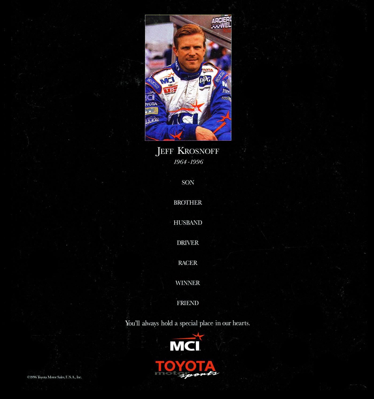 Jeff Krosnoff Farewell Ad sm2