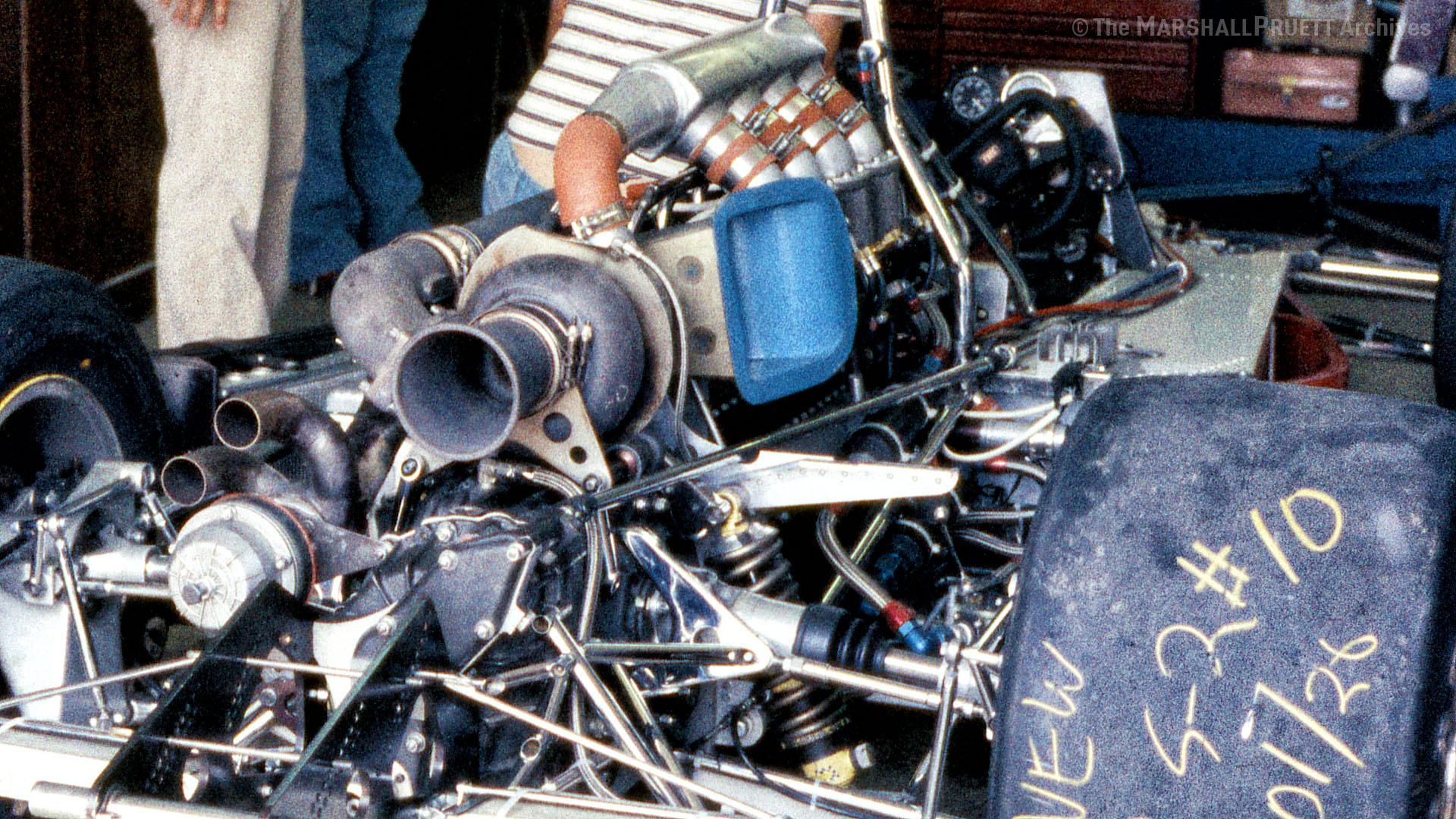 Lloyd Ruby Lightning Offy 1977 Indy 500