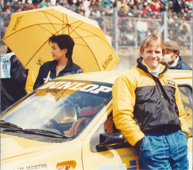Krosnoff raced a Ford Sierra Cosworth RS500 in the 1990s version of Japan's Super GT series. (Image: Krosnoff family)