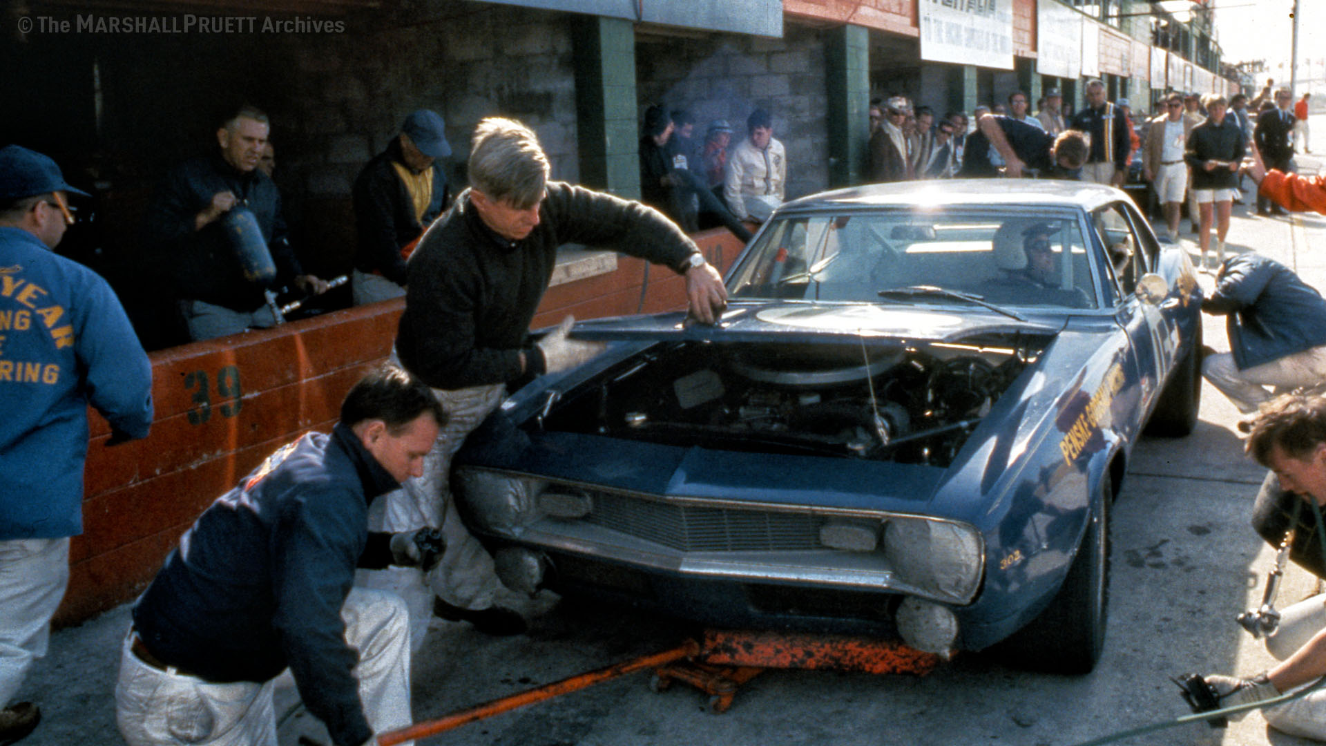 Mark Donohue Chevy Camaro Z28 Sebring 1968