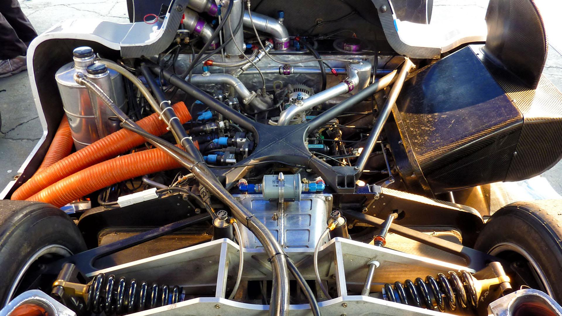 The RX-792P's four-rotor heart. (Image: Marshall Pruett)